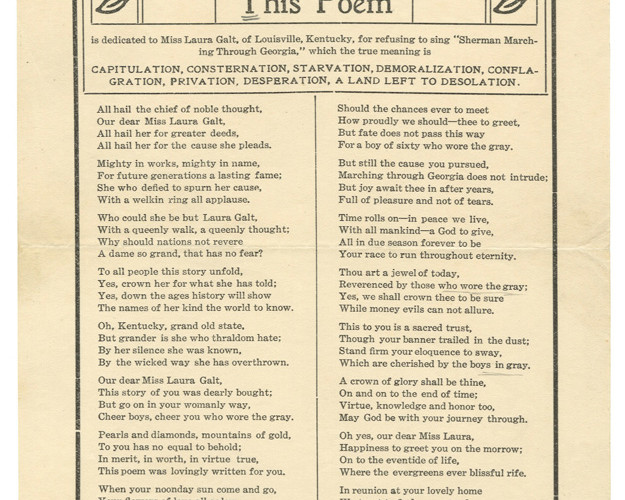 Duke: Poem Broadsides