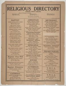 religious directory